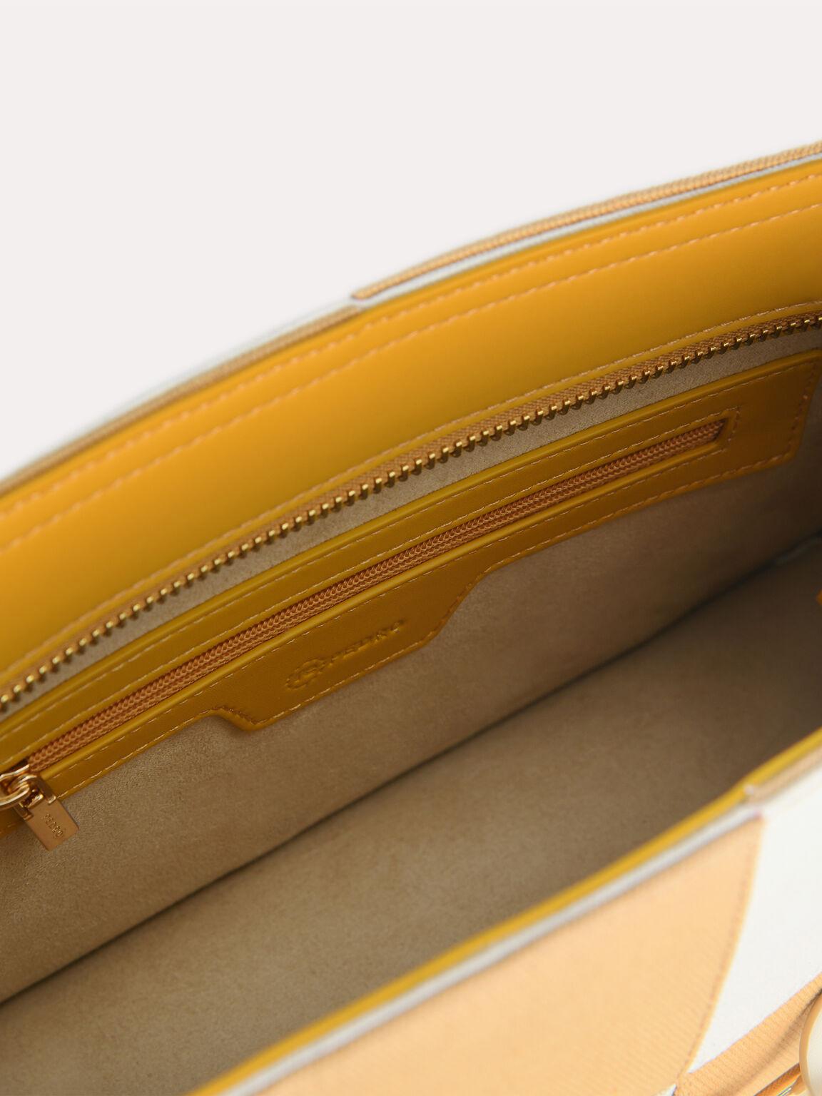 rePEDRO Duo-Toned Shoulder Bag, Mustard, hi-res