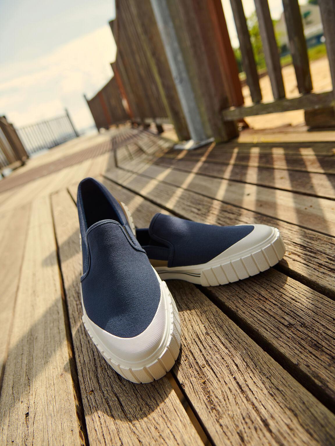 rePEDRO Beat Sneaker, Navy, hi-res