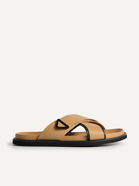 Criss-Cross Sandals, Sand, hi-res