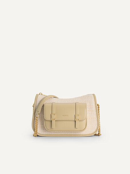 Tweet Shoulder Bag, Sand, hi-res
