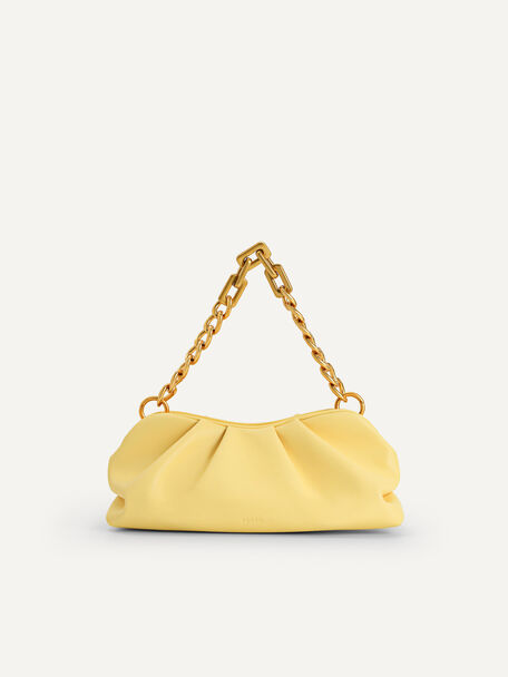 Chained Clutch, Light Yellow, hi-res