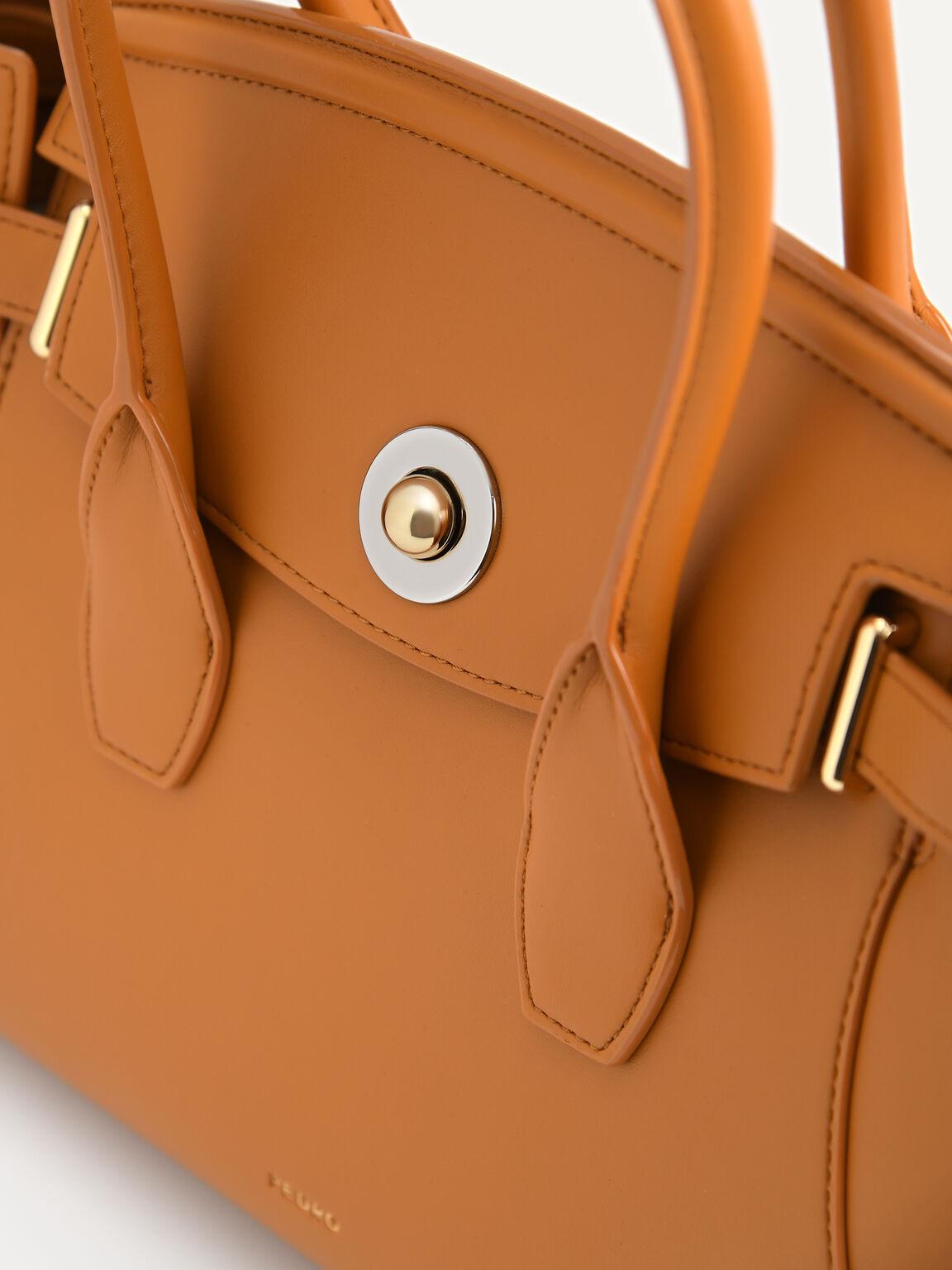 Trapeze Top Handle Bag, Camel, hi-res