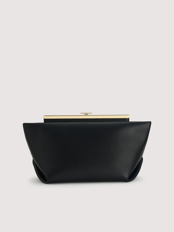 Origami Clutch, Black, hi-res