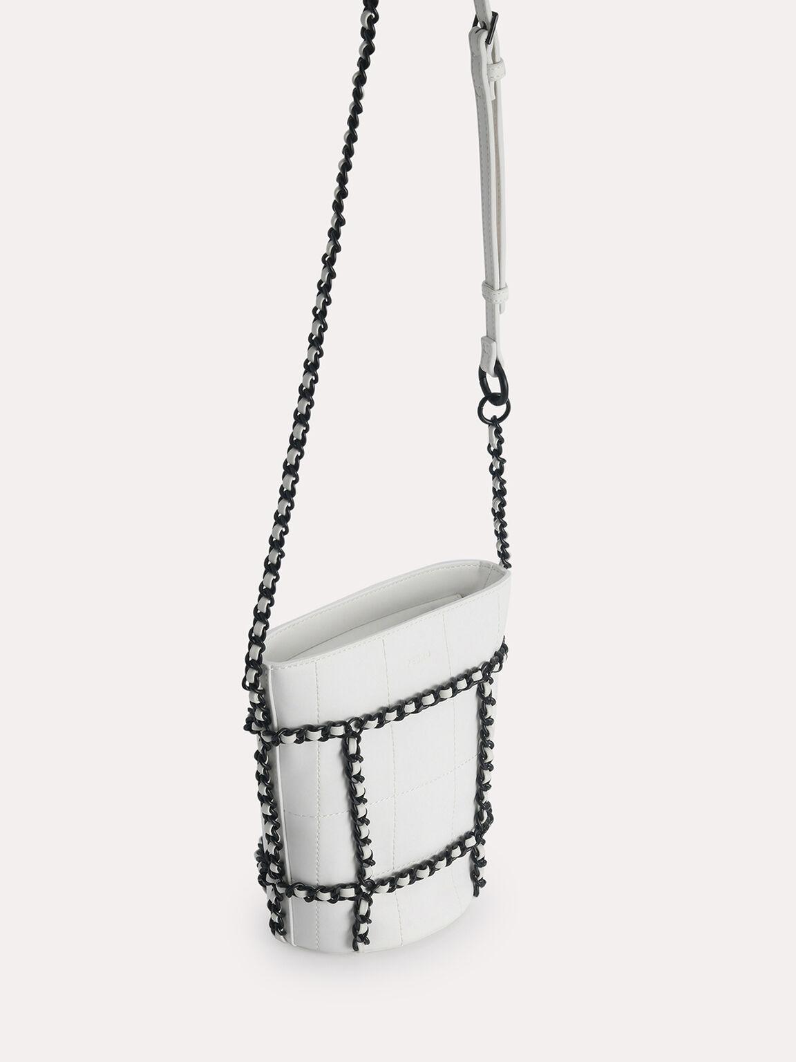 Bucket Shoulder Bag, Chalk, hi-res