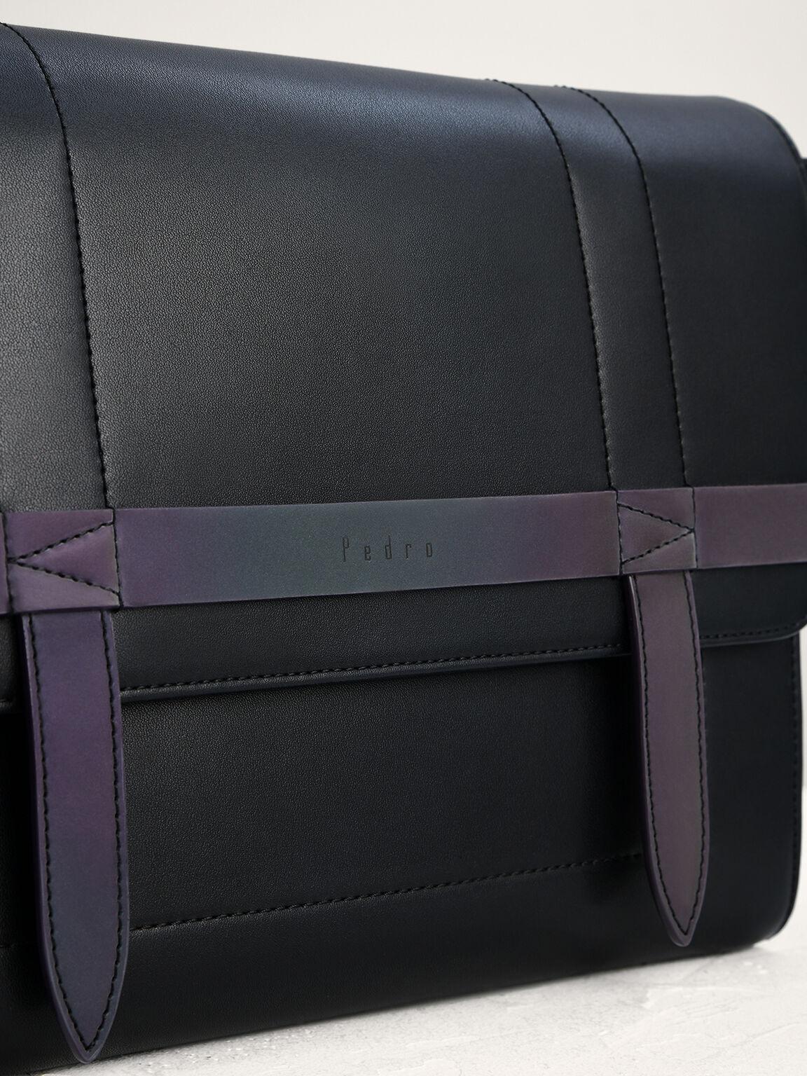 Two-Way Messenger Bag, Black, hi-res