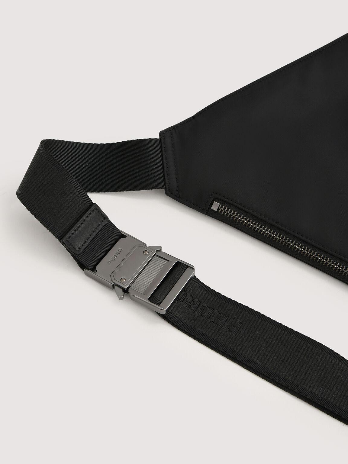 Nylon Sling Pouch, Black, hi-res