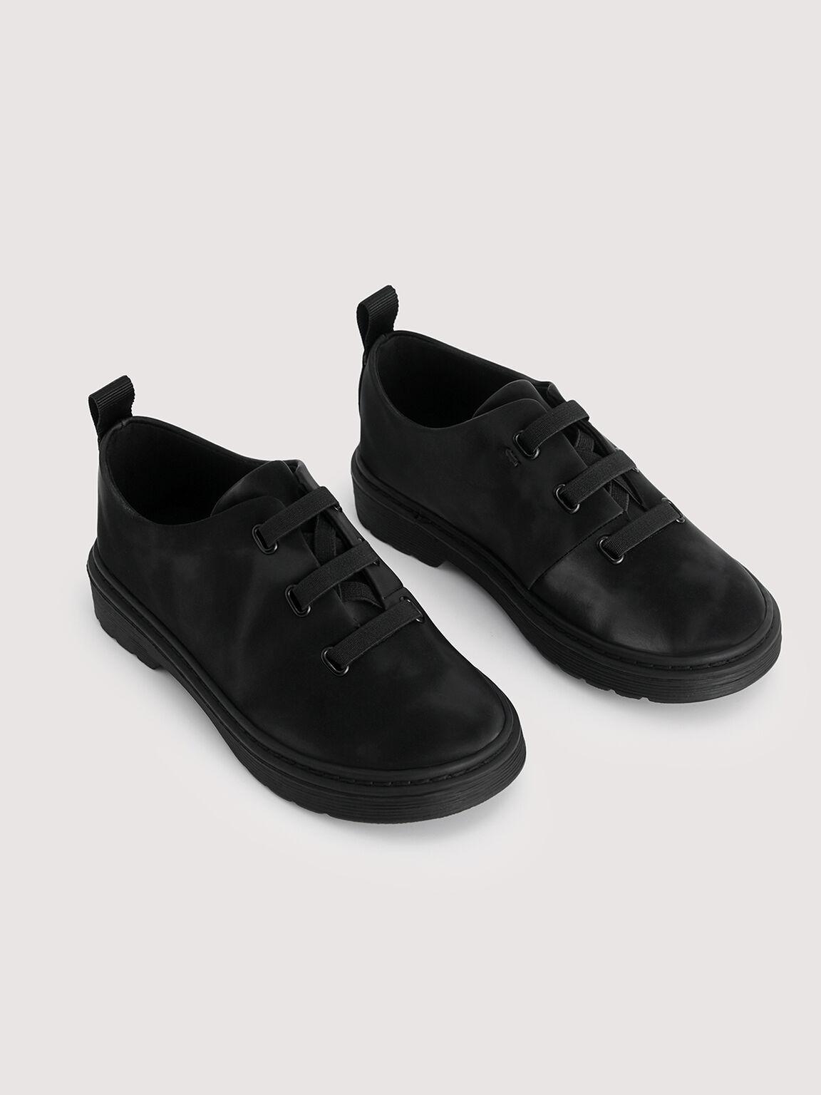 Formal Oxford Shoes, Black, hi-res