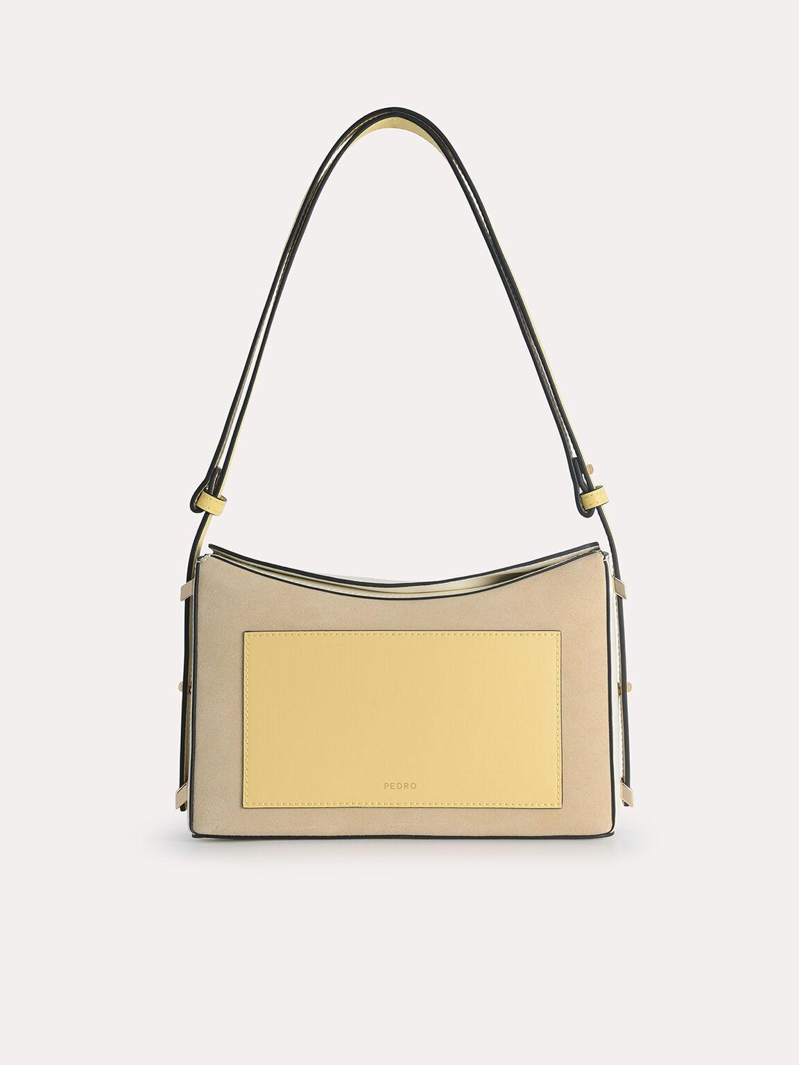 Leather Shoulder Bag, Multi, hi-res