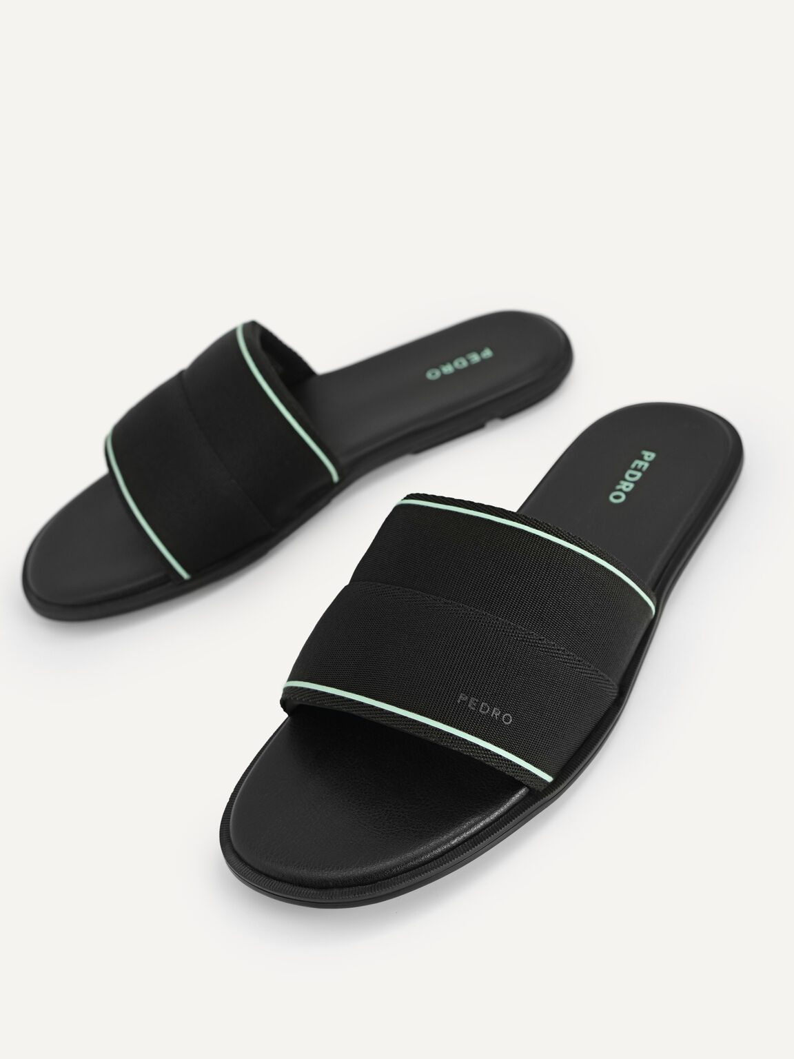 尼龍涼鞋, 黑色, hi-res
