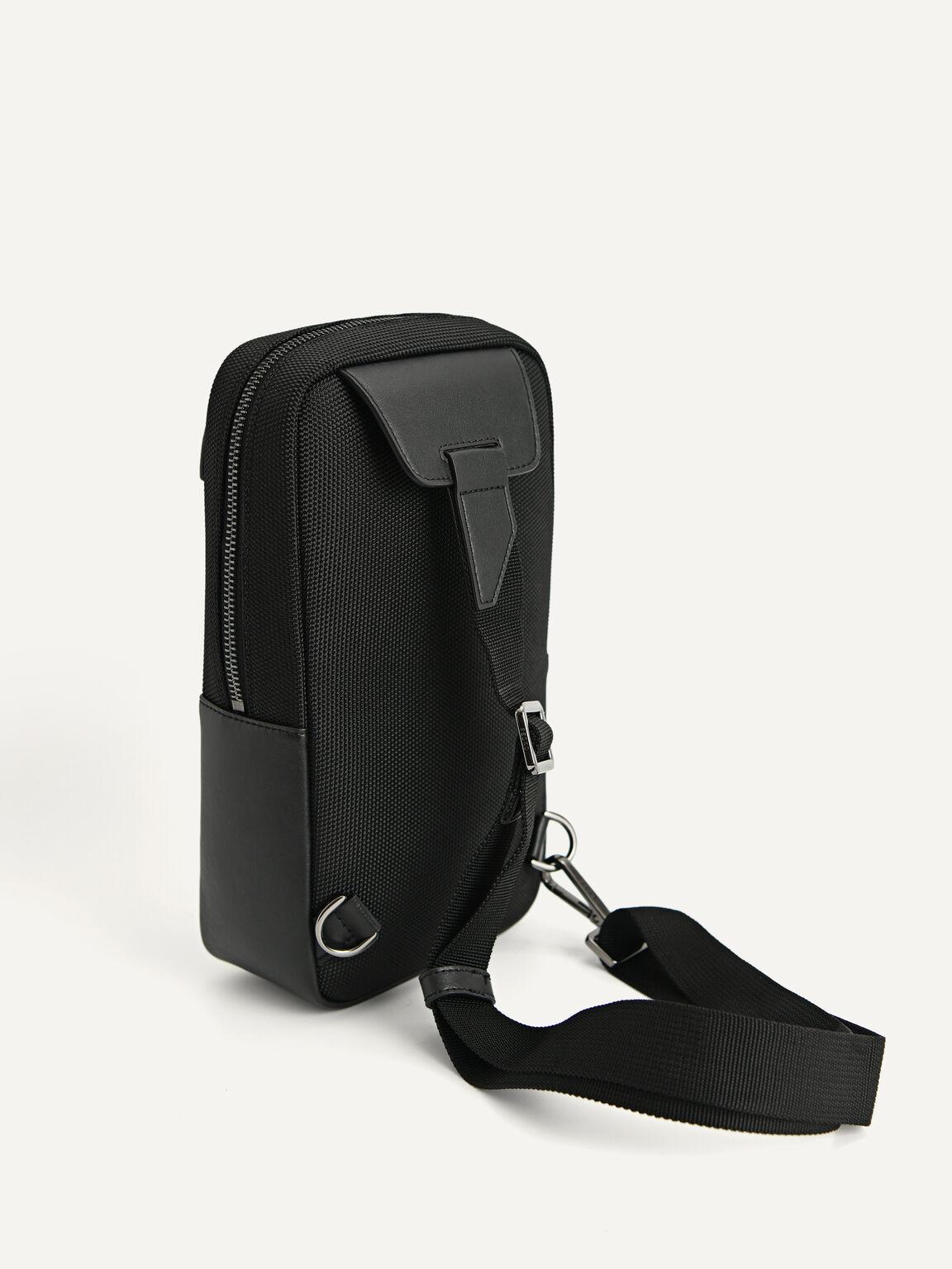 Utilitarian Sling Pouch, Black, hi-res