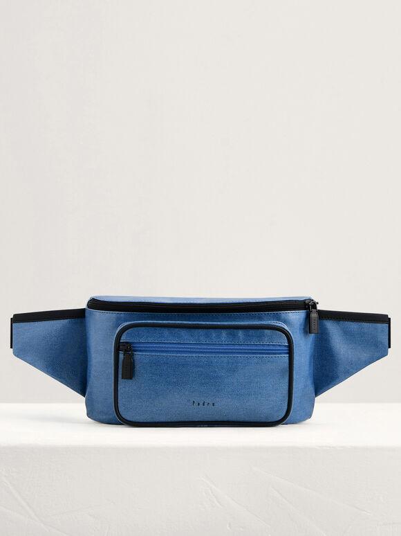 Casual Belt Bag, Blue Jean, hi-res