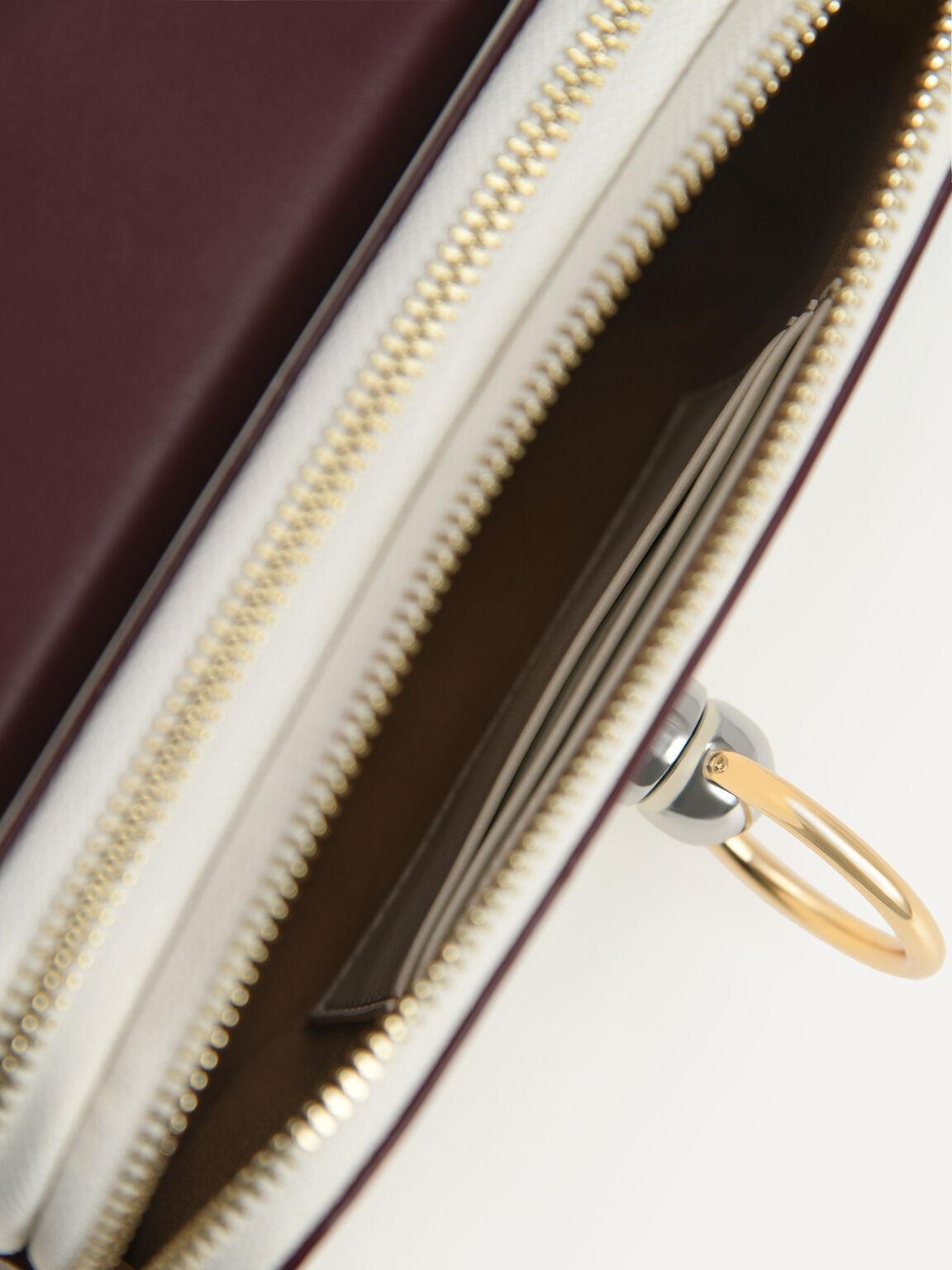 Mini Leather Shoulder Bag, Multi, hi-res