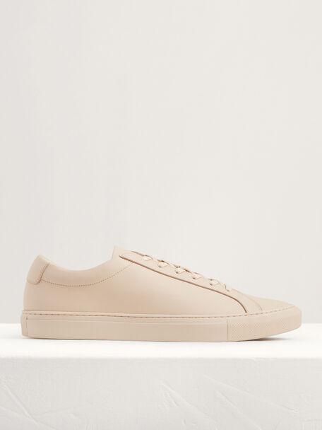 Casual Court Sneakers, Beige, hi-res