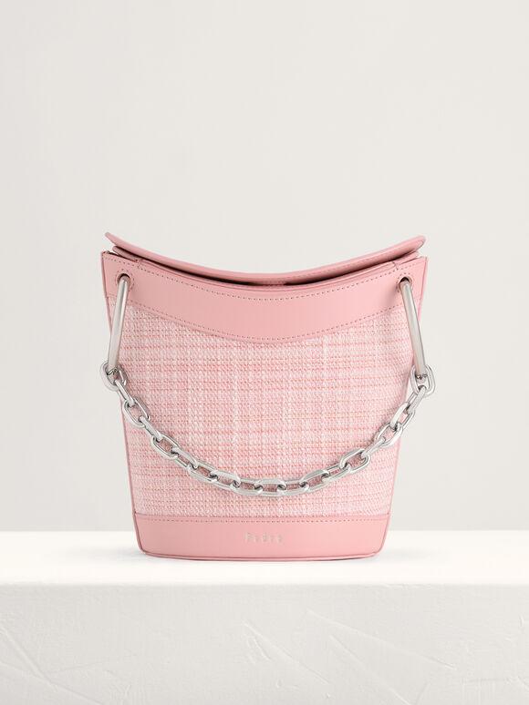 Tween Bucket Bag, Light Pink, hi-res
