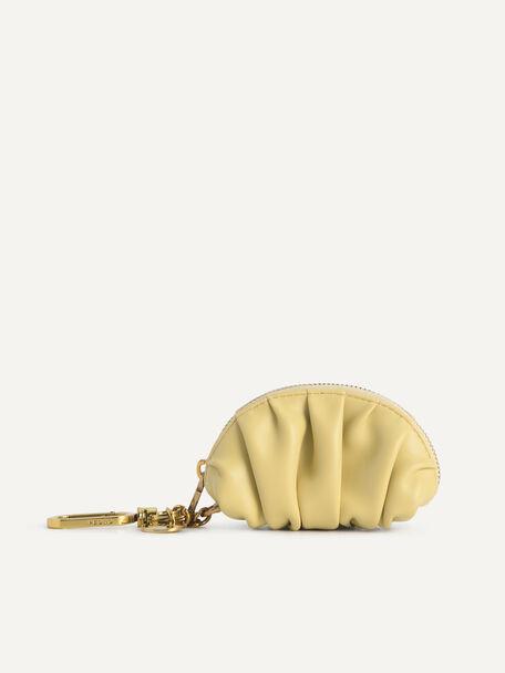 Mini Draped Pouch, Sand, hi-res