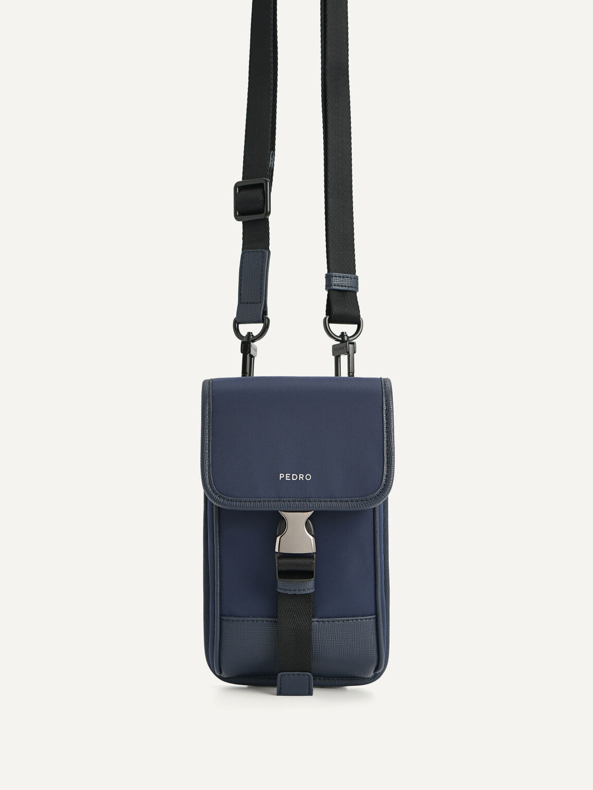 Casual phone pouch, Navy, hi-res
