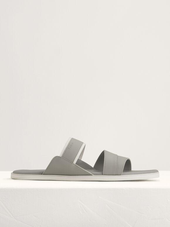 Casual Slides, Light Grey, hi-res