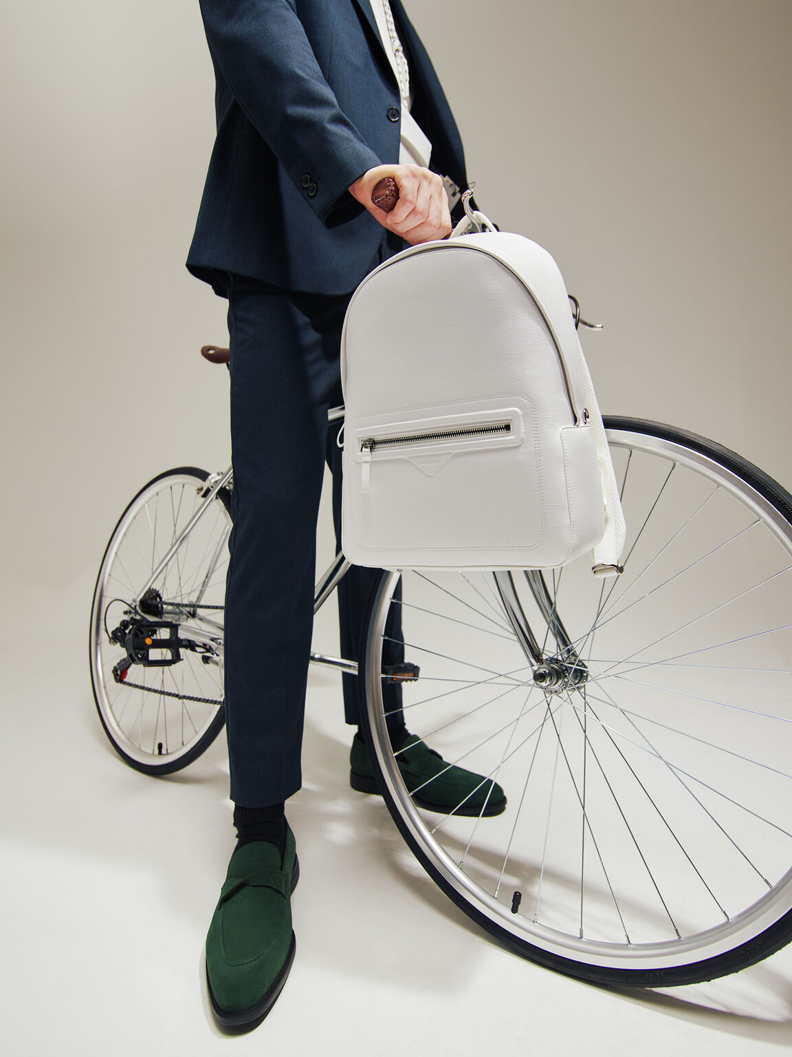 可拆式小袋背包, 白色, hi-res