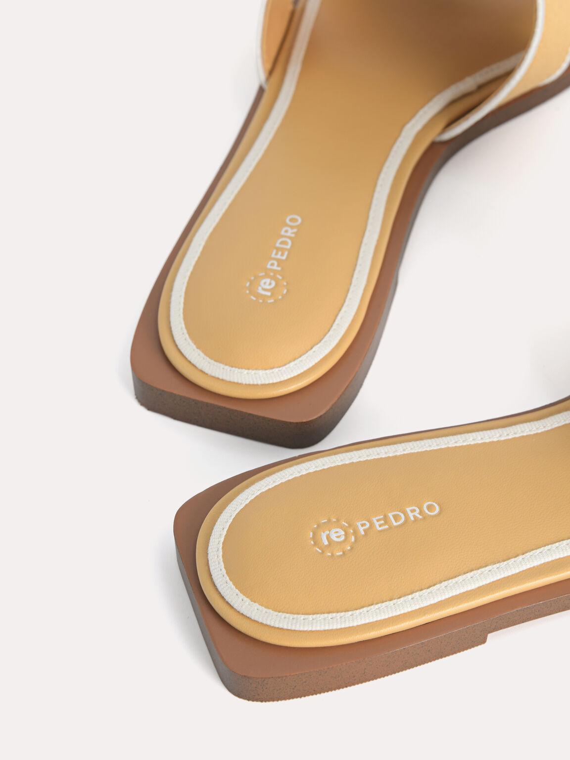 rePEDRO Cross-Strap Sandals, Mustard, hi-res