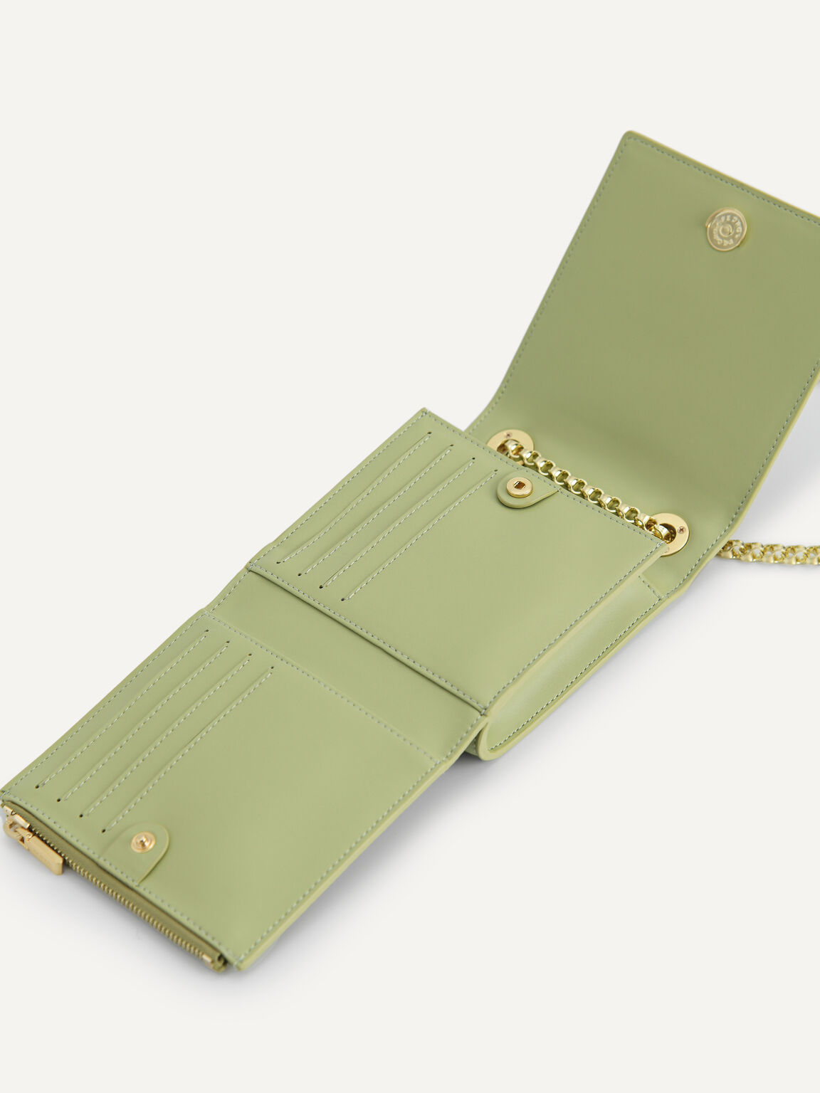 Corduroy Sling Pouch, Olive, hi-res