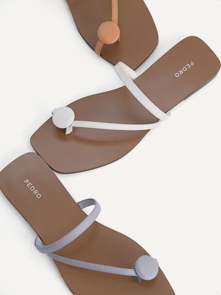 Toe Loop Sandals, Lilac, hi-res