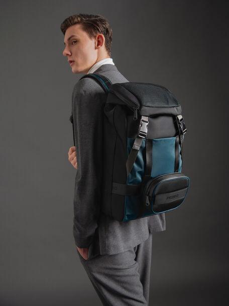 Nylon Backpack, Multi, hi-res