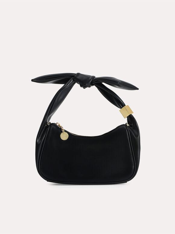 Loop Shoulder Bag, Black, hi-res