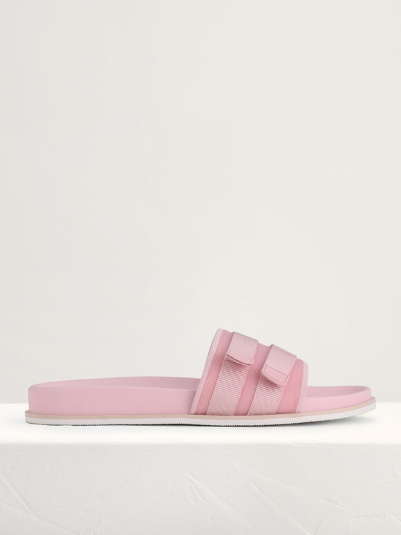 Velcro Slides, Light Pink, hi-res