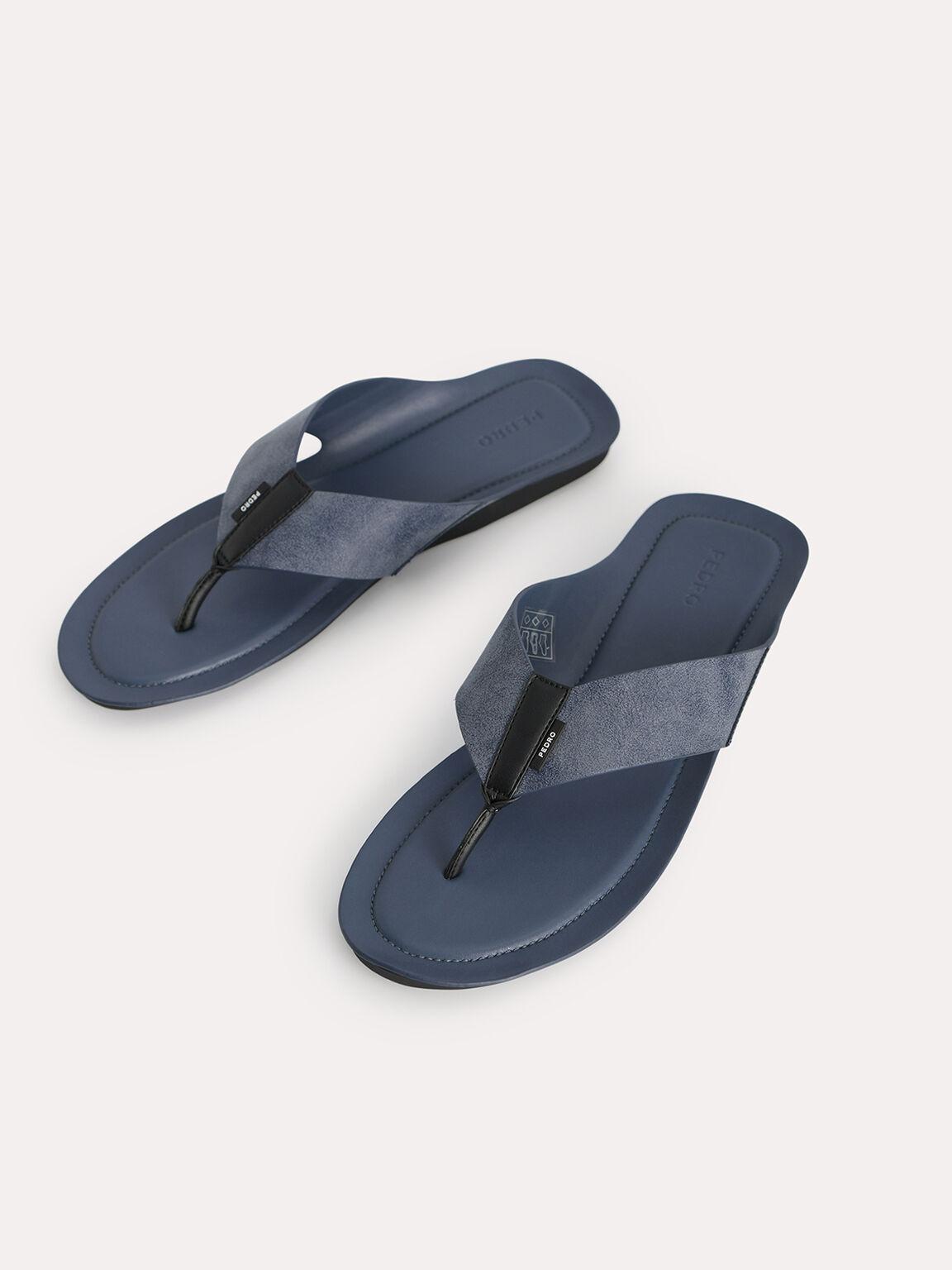 Thong Sandals, Navy, hi-res