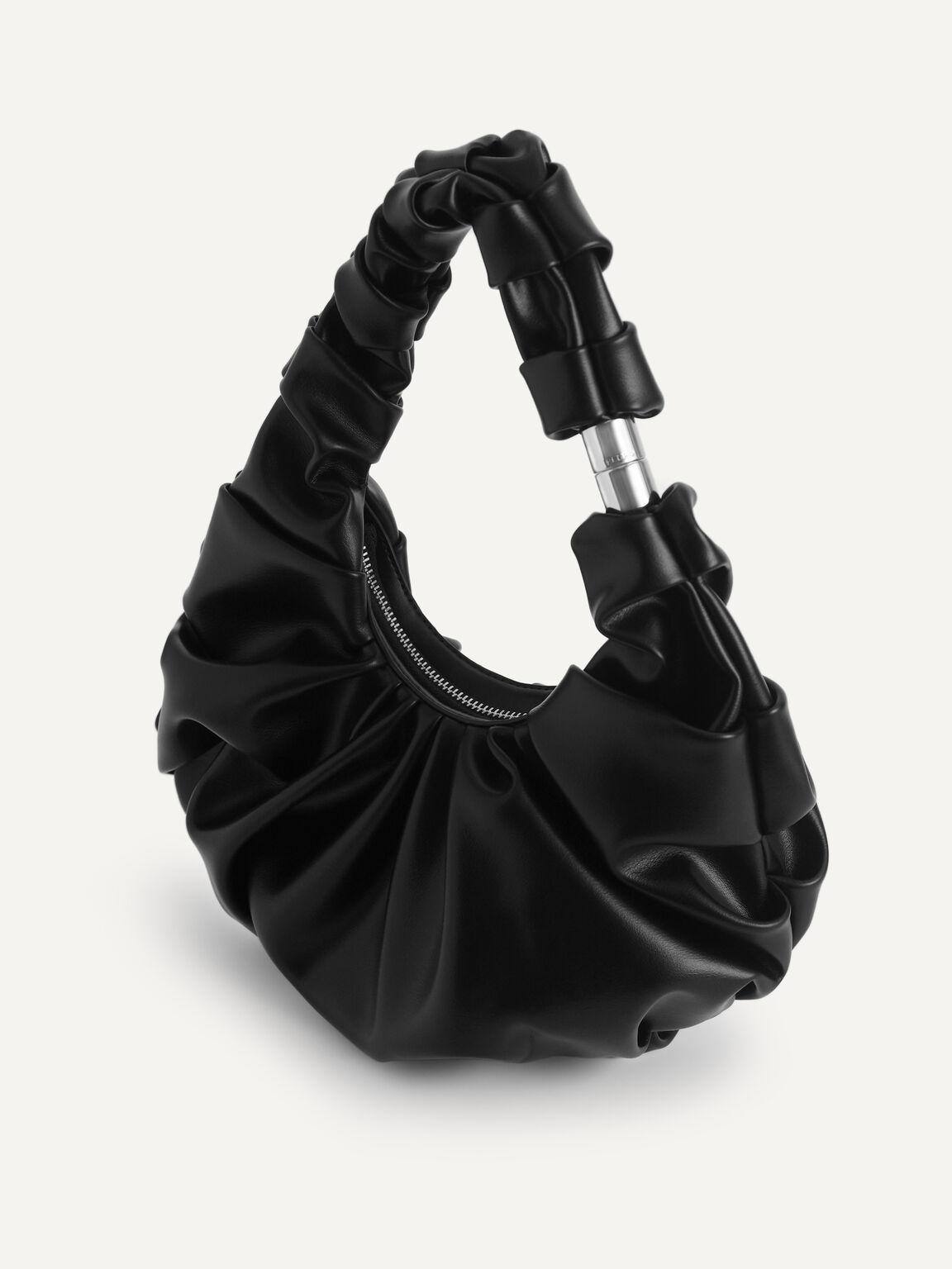 Venus Hobo Bag, Black, hi-res