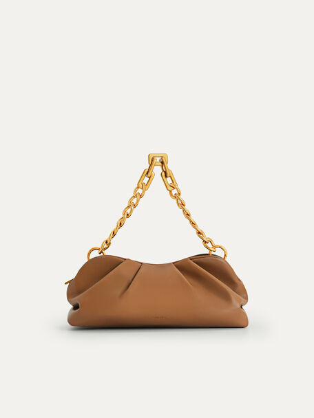 Chained Clutch, Camel, hi-res