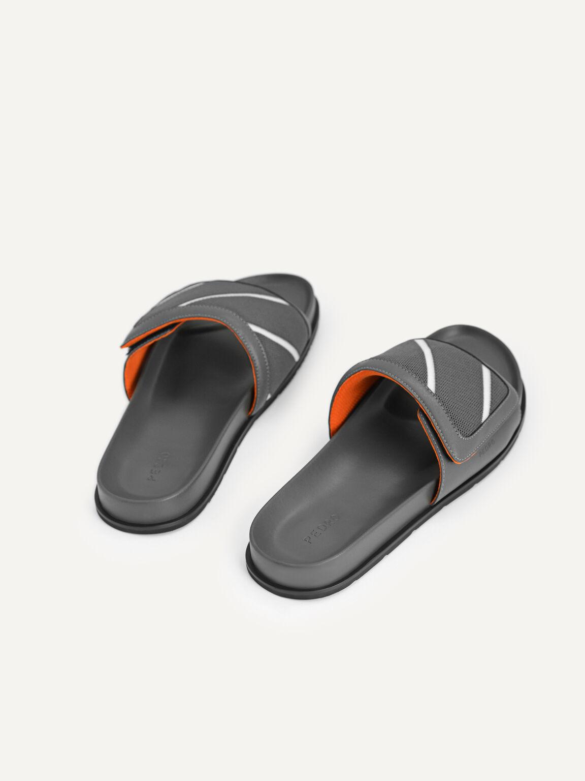 Front Strap Slides, Dark Grey, hi-res