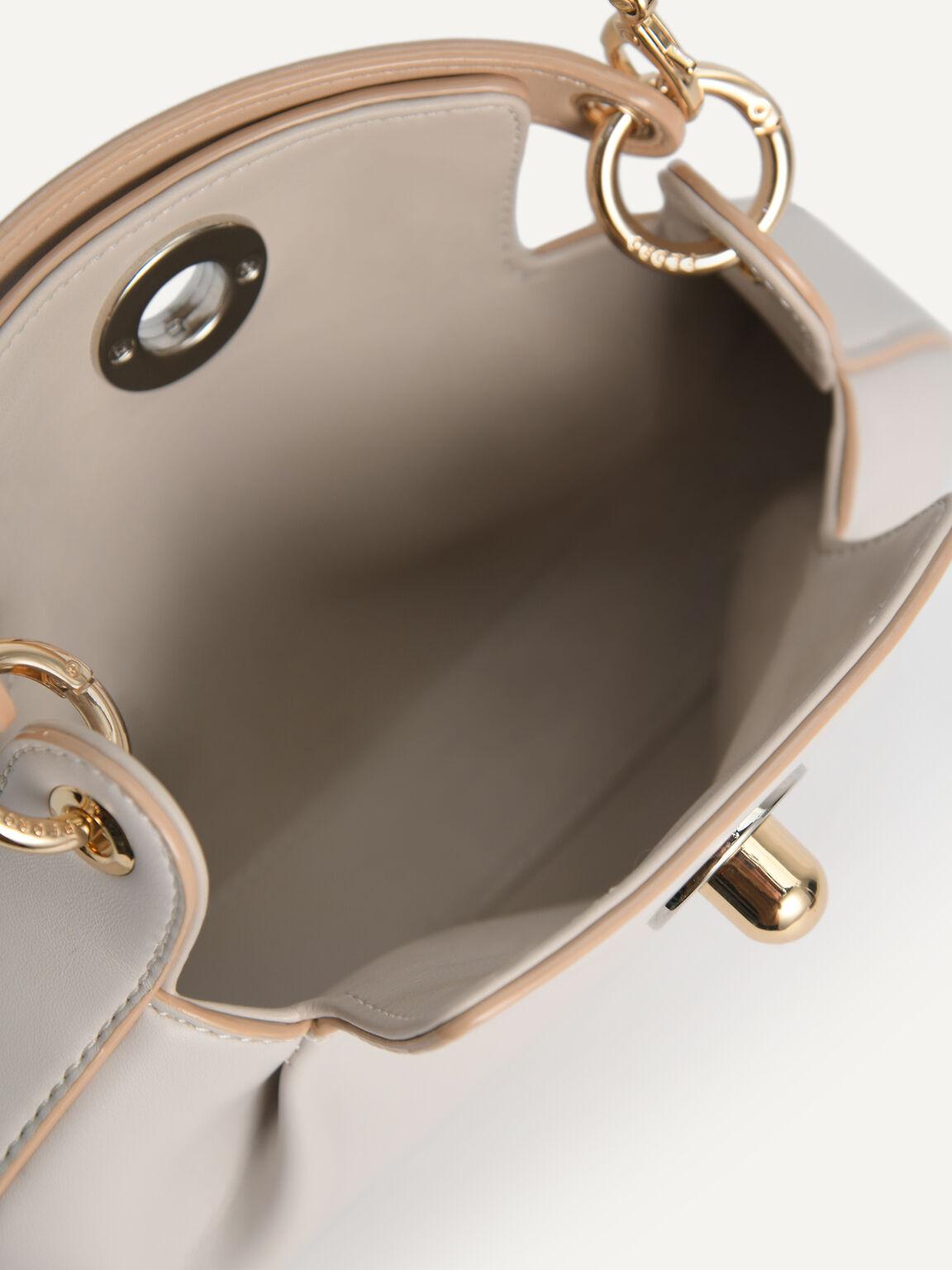 Oval Shoulder Bag, Chalk, hi-res