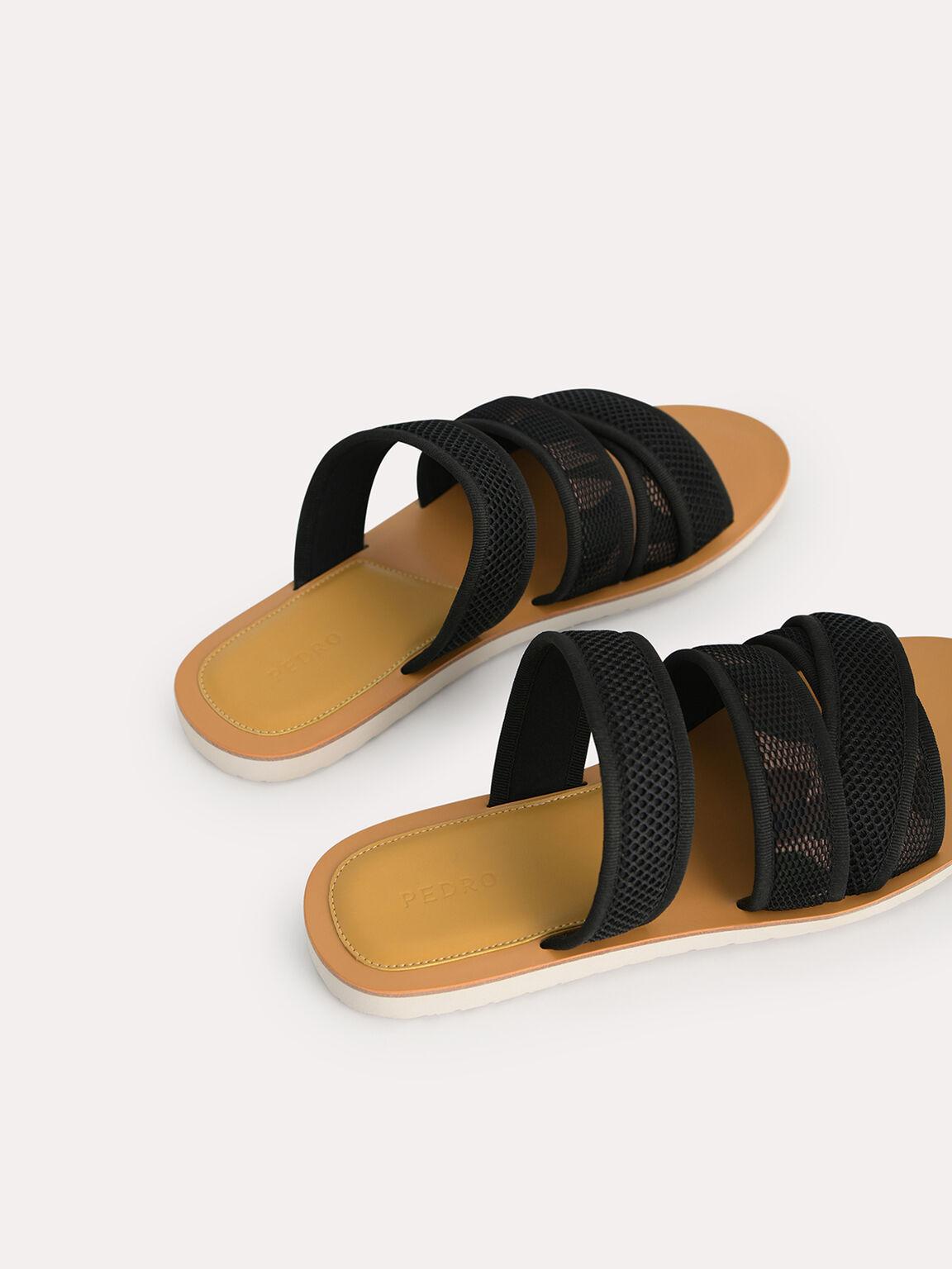 Strappy Mesh Sandals, Multi, hi-res