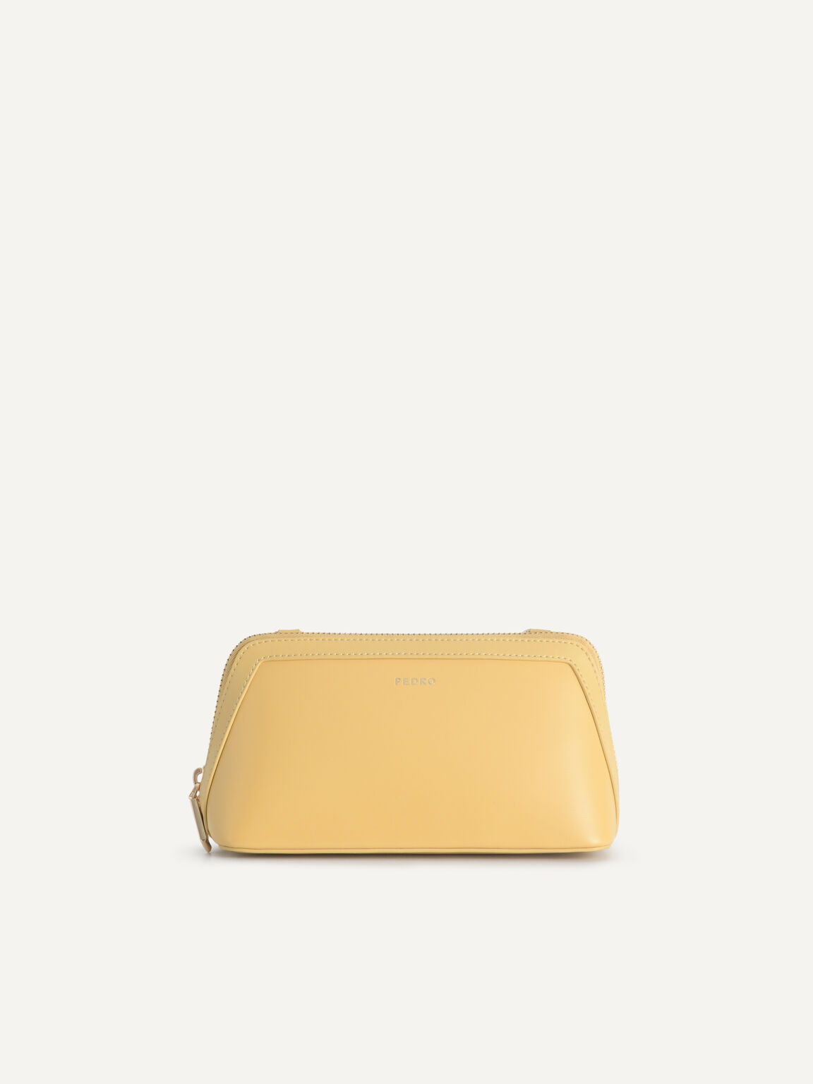 Leather Pouch, Sand, hi-res