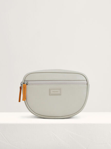 Casual Sling Pouch, Camel, hi-res