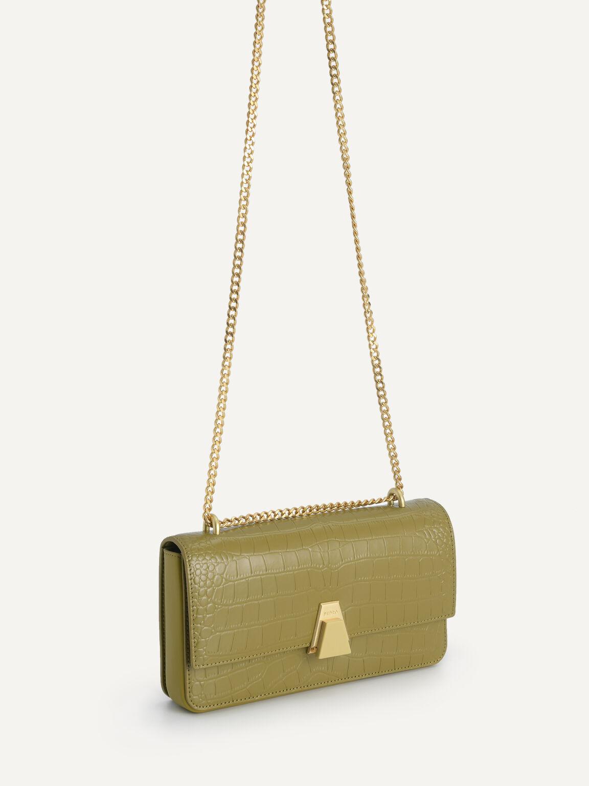 Textured Leather Travel Organiser, Light Green, hi-res