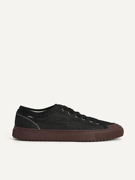 Denim Atlas Sneakers, Black, hi-res