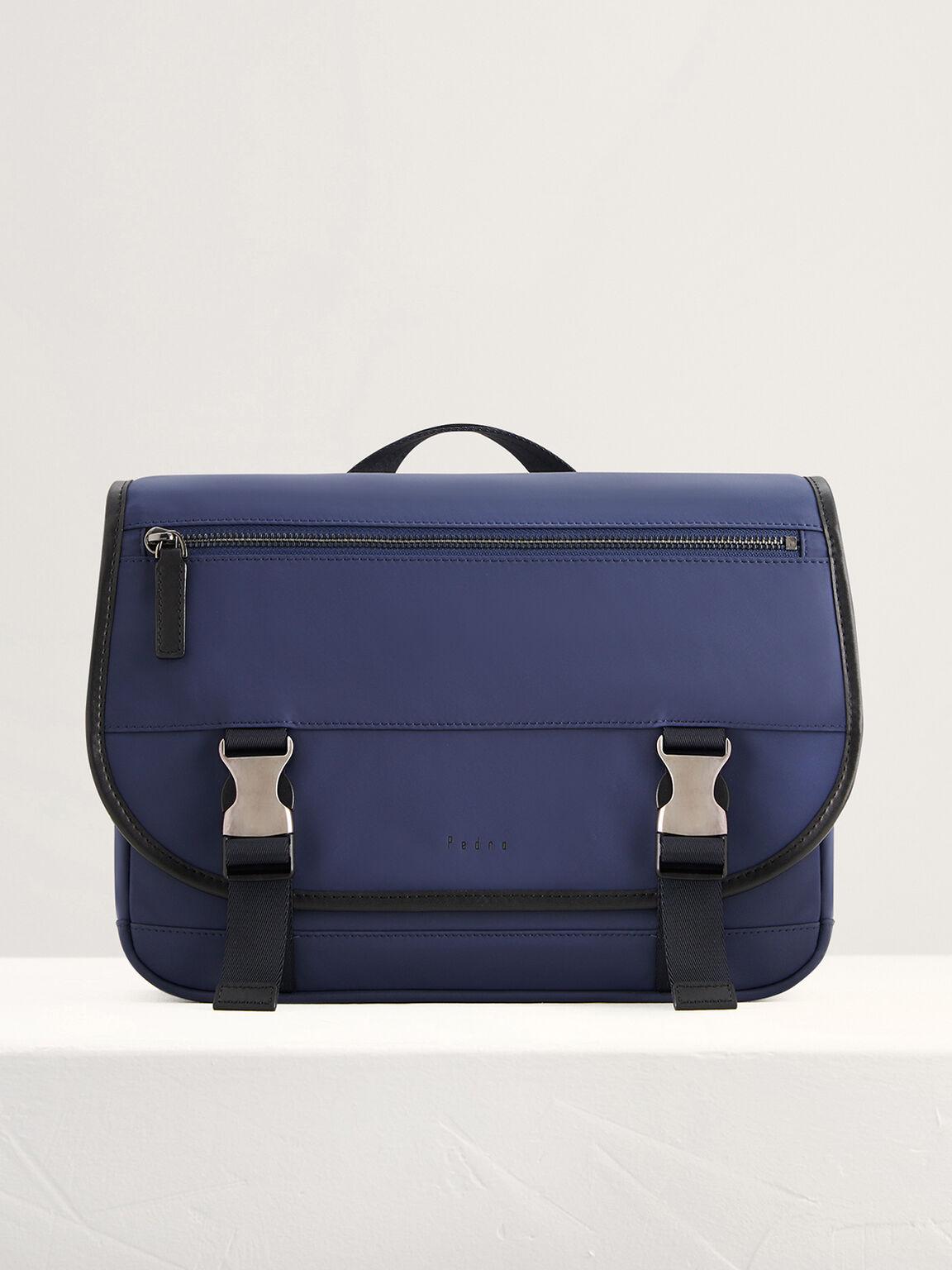 Two-Way Messenger Bag, Navy, hi-res
