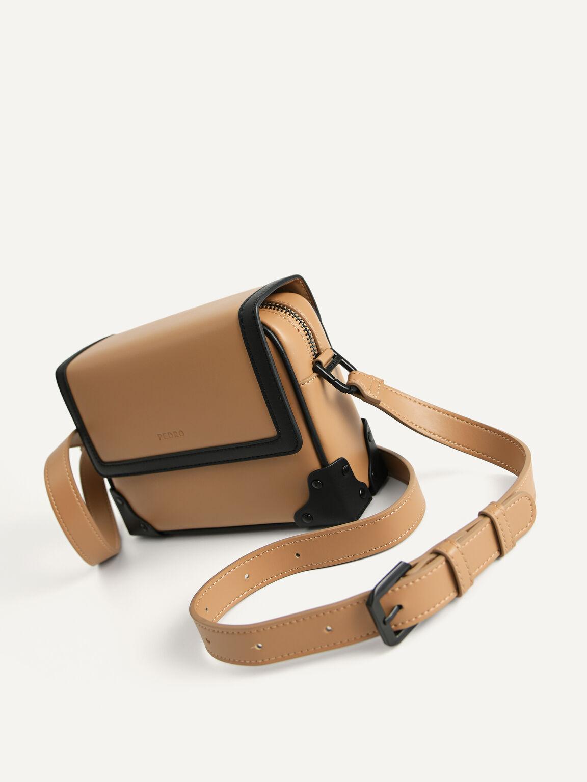 Boxy Sling Bag, Sand, hi-res