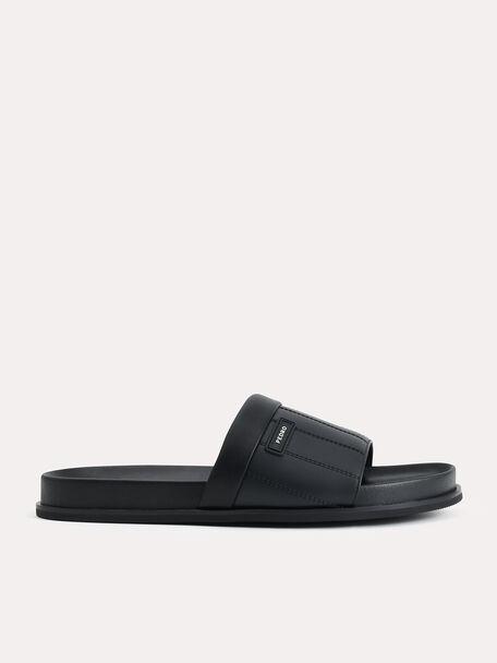 Padded Slides, Black, hi-res