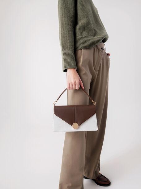 Post Shoulder Bag, Multi, hi-res