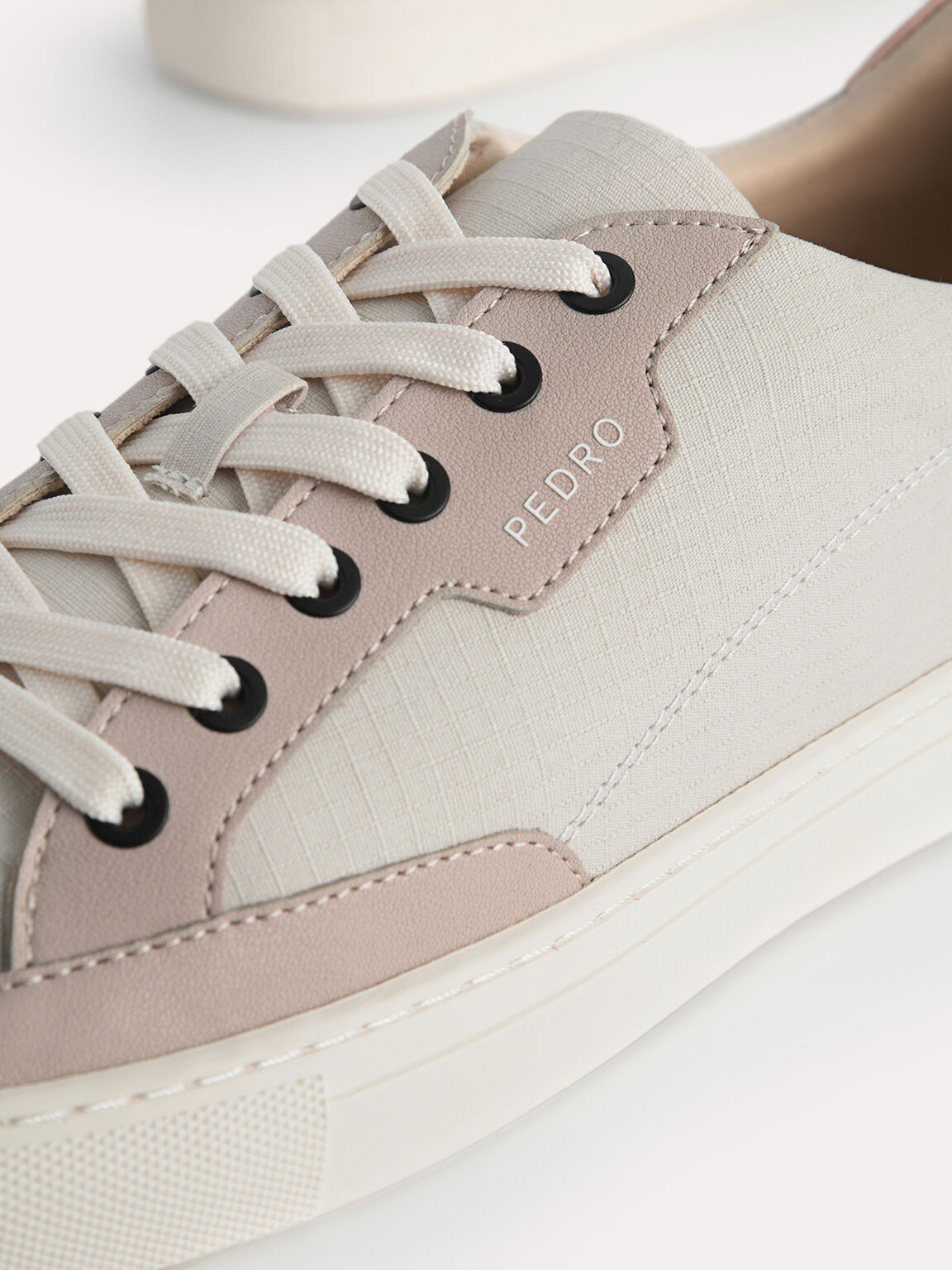 Atlas Casual Court Sneakers, Taupe, hi-res