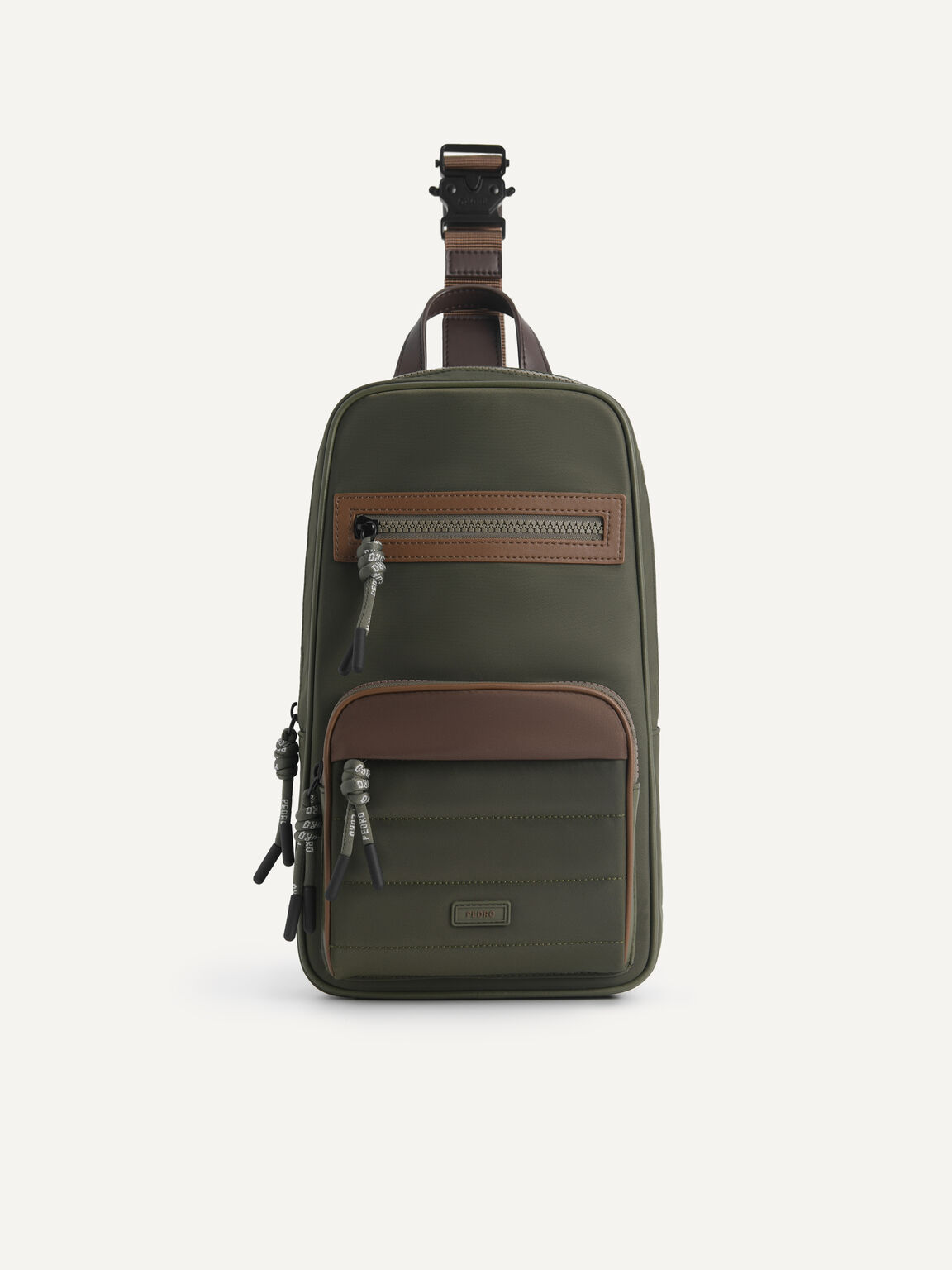 Nylon Sling Pouch, Military Green, hi-res