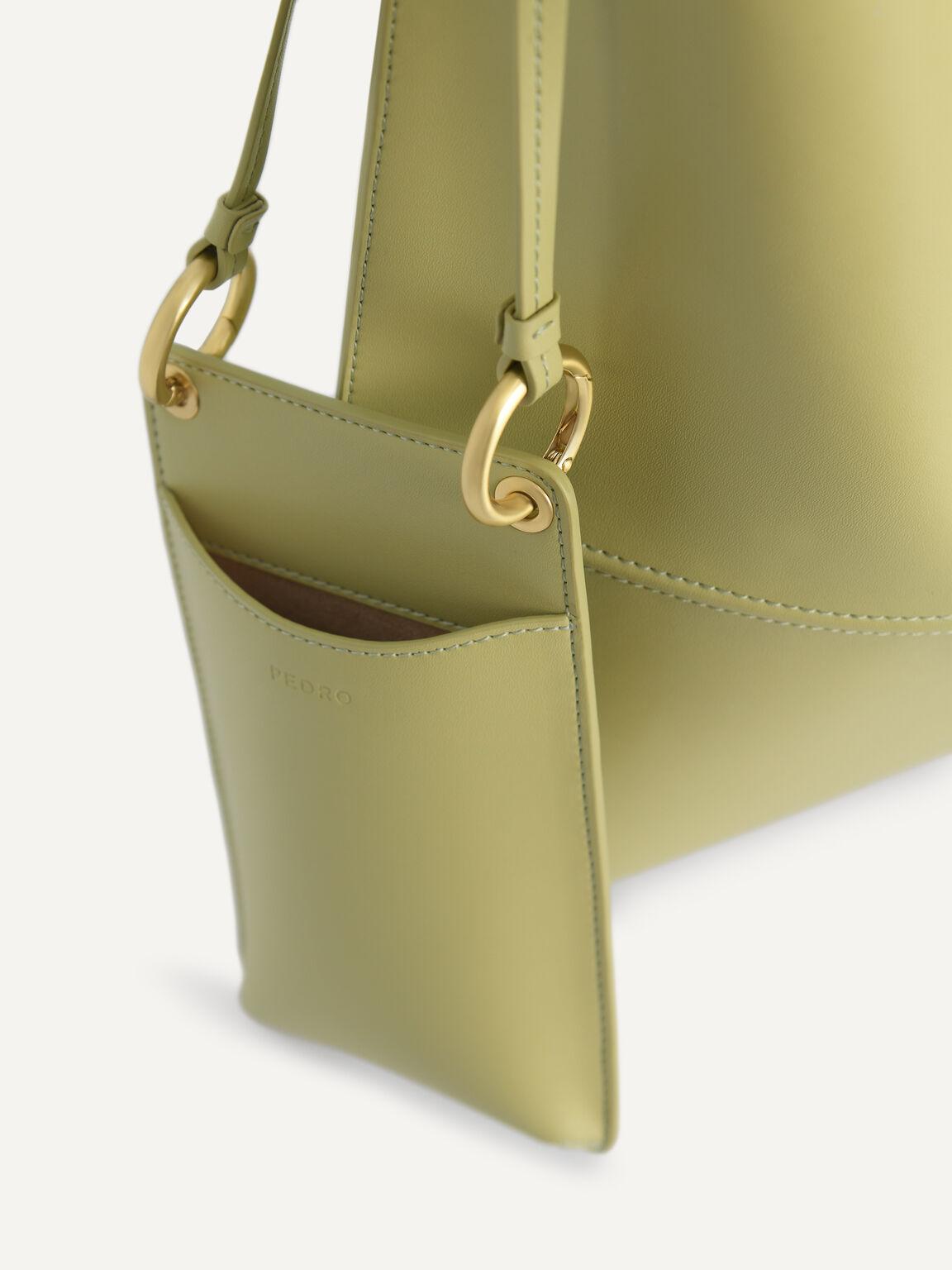 Tangram Hobo Bag, Olive, hi-res