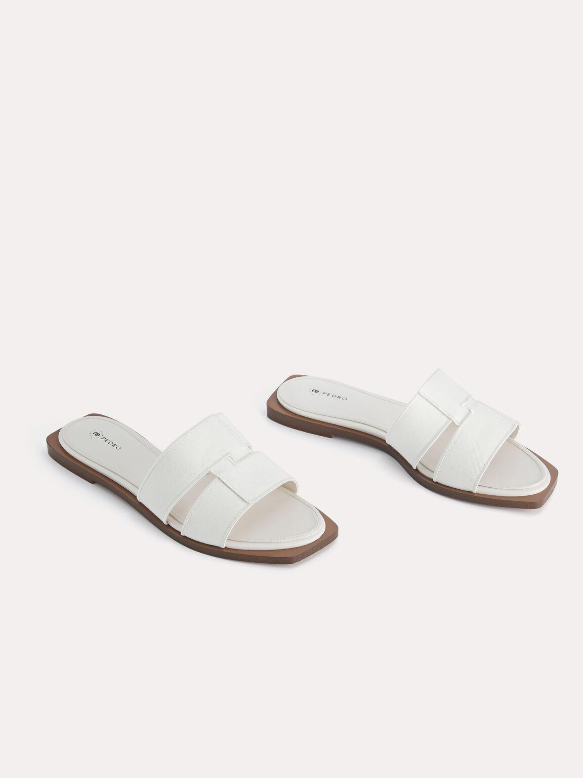 rePEDRO Cross-Strap Sandals, Chalk, hi-res