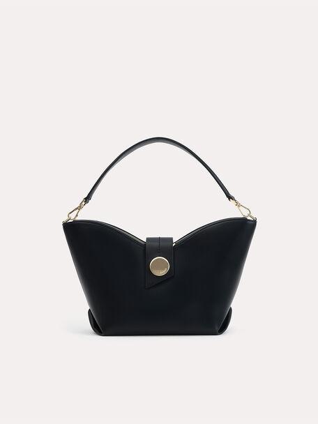 Brunch Hobo Bag, Black, hi-res