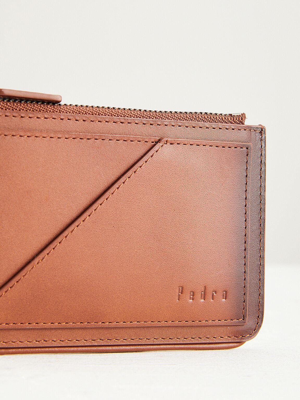 Leather Card Holder, Cognac, hi-res