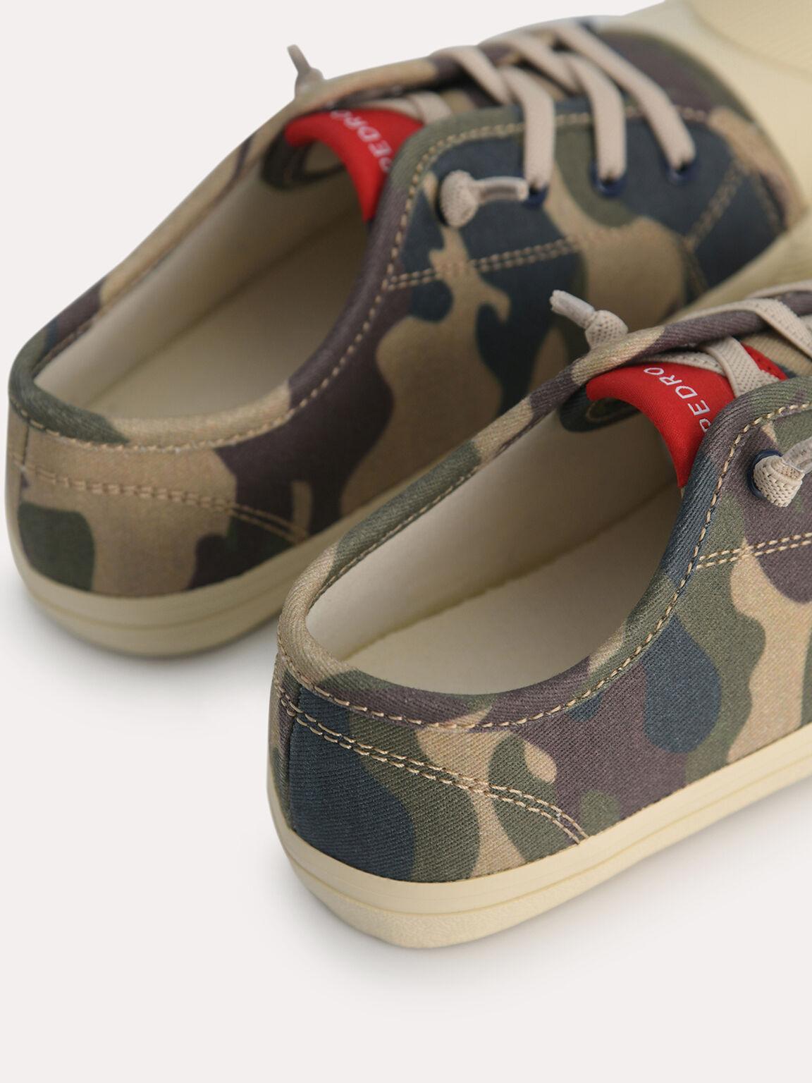 Camo-Printed Sneakers, Multi, hi-res