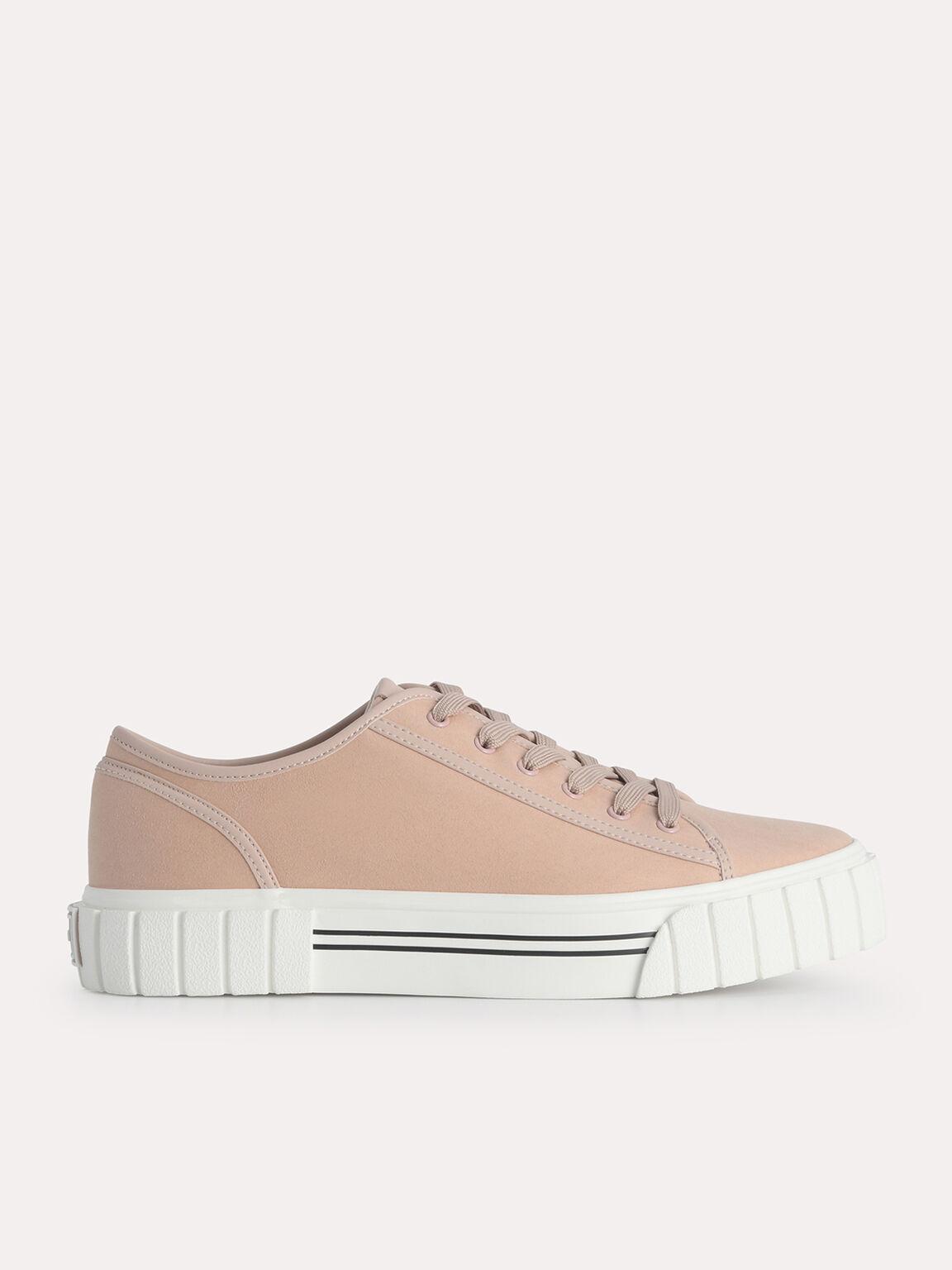 Beat Platform Sneakers, Blush, hi-res